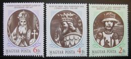 Poštovní známky Maïarsko 1988 Králové Mi# 3956-58