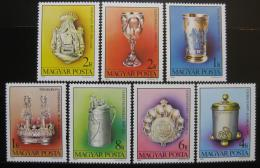 Poštovní známky Maïarsko 1984 Židovské umìní Mi# 3718-24