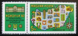 Poštovní známka Maïarsko 1982 Výstava AGROFILA Mi# 3575