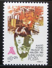 Poštovní známka Maïarsko 1981 Liga mladých komunistù Mi# 3501