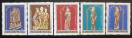 Poštovní známky Maïarsko 1980 Historické klenoty Mi# 3420-24
