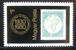 Poštovní známka Maïarsko 1980 Poštovní muzeum Mi# 3428