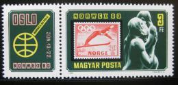 Poštovní známka Maïarsko 1980 Výstava NORWEX Mi# 3432