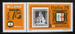Poštovní známka Maïarsko 1976 Výstava ITALIA Mi# 3143