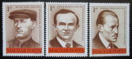 Poštovní známky Maïarsko 1976 Odboráøi Mi# 3144-46