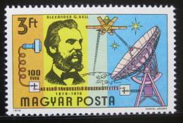 Poštovní známka Maïarsko 1976 Alexander Graham Bell Mi# 3105