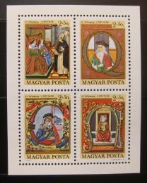 Poštovní známky Maïarsko 1970 Den známek Mi# Block 77