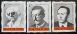 Poštovní známky Maïarsko 1975 Slavní Maïaøi Mi# 3077-79