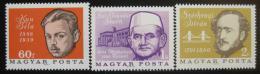 Poštovní známky Maïarsko 1966 Politici Mi# 2210-11,2238