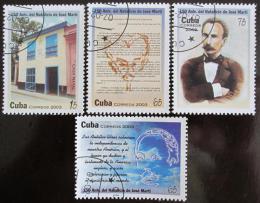 Poštovní známky Kuba 2003 José Martí Mi# 4500-03