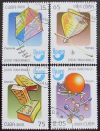 Poštovní známky Kuba 2009 Tradièní hry Mi# 5314-17 Kat 7.20€