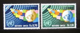 Poštovní známky OSN Ženeva 1978 Generální shromáždìní Mi# 78-79