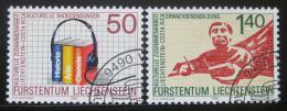 Poštovní známky Lichtenštejnsko 1988 Kulturní spolupráce Mi# 945-46