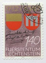 Poštovní známka Lichtenštejnsko 1987 Nákup Vaduzu Mi# 928
