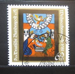 Poštovní známka Nìmecko 1981 Vánoce Mi# 1113