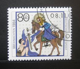 Poštovní známka Nìmecko 1984 Vánoce Mi# 1233