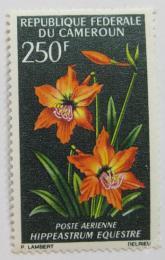 Poštovní známka Kamerun 1967 Hippeastrum Equestre Mi# 517 Kat 6€