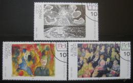 Poštovní známky Nìmecko 1993 Umìní Mi# 1656-58