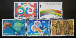 Poštovní známky Švýcarsko 1989 Výroèí a události Mi# 1397-01