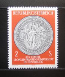 Poštovní známka Rakousko 1970 Univerzita Innsbruck, 300. výroèí Mi# 1326
