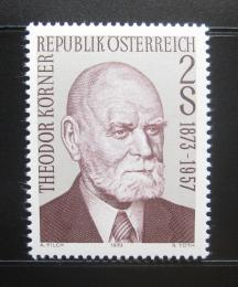 Poštovní známka Rakousko 1973 Prezident Korner Mi# 1412