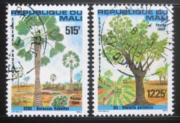 Poštovní známky Mali 1984 Stromy Mi# 1015-16 Kat 7.90€