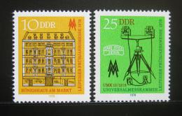 Poštovní známky DDR 1978 Veletrh v Lipsku Mi# 2308-09