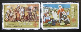 Poštovní známky Turecko 1975 Evropa CEPT, umìní Mi# 2355-56