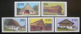 Poštovní známky Nìmecko 1995 Farmy Mi# 1819-23