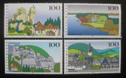 Poštovní známky Nìmecko 1995 Scénické regiony Mi# 1807-10