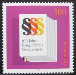 Poštovní známka Nìmecko 1996 Obèanský zákoník Mi# 1874