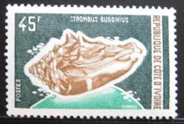 Poštovní známka Pobøeží Slonoviny 1972 Strombus bobonius Mi# 410