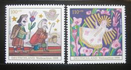 Poštovní známky Nìmecko 1998 Vánoce Mi# 2023-24