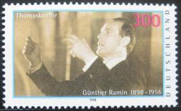 Poštovní známka Nìmecko 1998 Günther Ramin, dirigent Mi# 2020