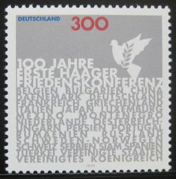 Poštovní známka Nìmecko 1999 První mírová konference Mi# 2066