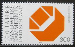 Poštovní známka Nìmecko 2000 øemeslná výroba Mi# 2124