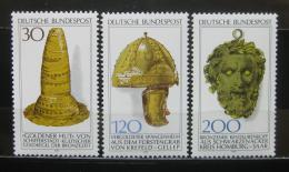 Poštovní známky Nìmecko 1977 Archeologické nálezy Mi# 943-45 Kat 5€