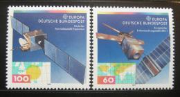 Poštovní známky Nìmecko 1991 Evropa CEPT, satelity Mi# 1526-27