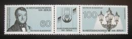 Poštovní známky Nìmecko 1991 Svìtový kongres plynaøù Mi# 1537-38