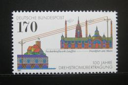 Poštovní známka Nìmecko 1991 Tøífázové vysílání Mi# 1557
