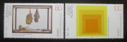 Poštovní známky Nìmecko 1993 Moderní umìní Mi# 1673-74