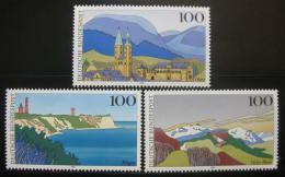 Poštovní známky Nìmecko 1993 Scénické regiony Mi# 1684-86