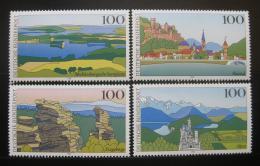 Poštovní známky Nìmecko 1994 Scénické regiony Mi# 1742-45 Kat 5.50€