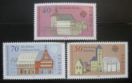 Poštovní známky Nìmecko 1978 Evropa CEPT, radnice Mi# 969-71