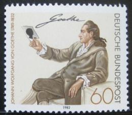 Poštovní známka Nìmecko 1982 Johann Wolfgang Goethe Mi# 1121
