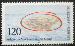 Poštovní známka Nìmecko 1982 Ochrana moøe Mi# 1144