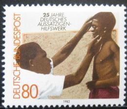 Poštovní známky Nìmecko 1982 Pomoc malomocným Mi# 1146
