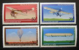 Poštovní známky Nìmecko 1978 Letectví Mi# 964-67