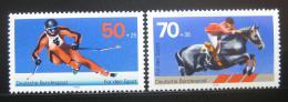 Poštovní známky Nìmecko 1978 Sport Mi# 958,968 Kat 5.80€