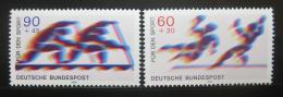 Poštovní známky Nìmecko 1979 Sport Mi# 1009-10